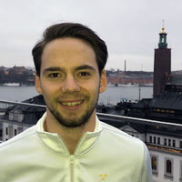Porträtt av Emil Andersson