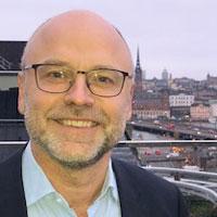 Porträtt av Jan Casserlöv, marknadschef på Toyota Sweden AB